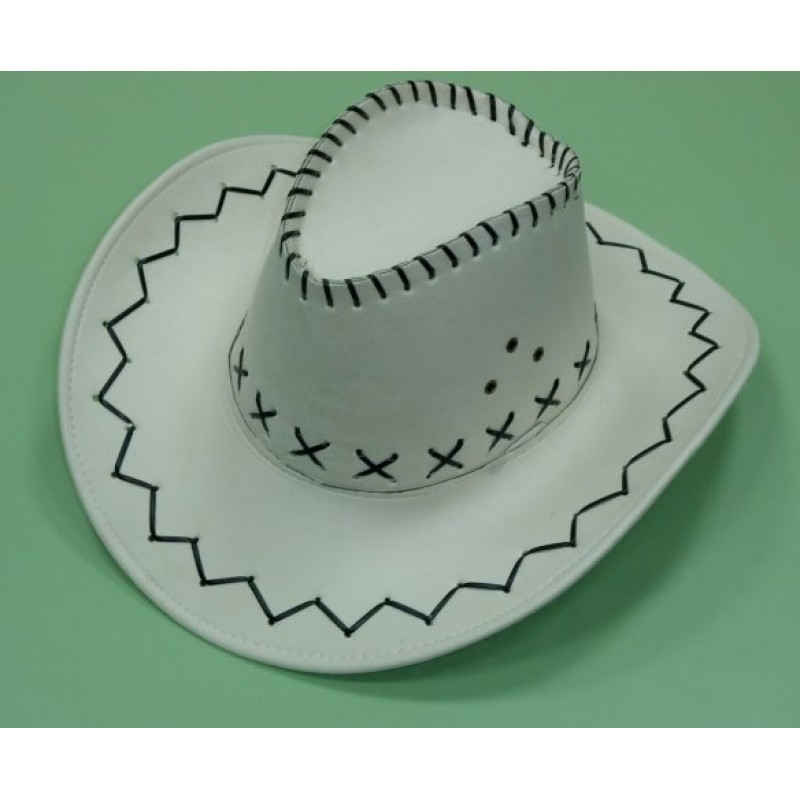 Как сделать шапку для ковбоя