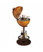 Глобус бар напольный на 1й ножке Италия ИКАР