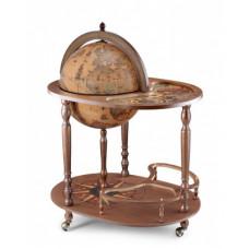 """Глобус бар со столиком """"Ясон"""" напольный Италия."""