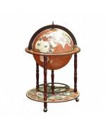Глобус-бар напольный, сфера 42 см