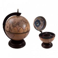 Глобус бар Сокровища древнего мира настольный D 42см.