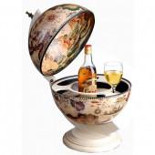 Глобус бар Сокровища древнего мира настольный светлый НОВИНКА!