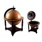 Глобус бар Сокровища древнего мира настольный