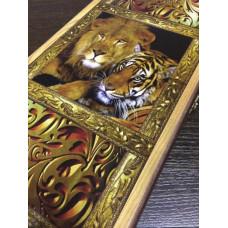 Нарды походные Лев и Тигр большие ХИТ!