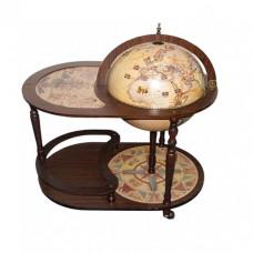 Глобус бар напольный со столиком d 42 НОВИНКА!