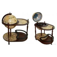 Глобус бар Сокровища древнего мира напольный