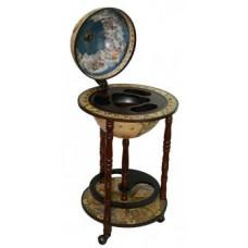 Глобус бар напольный Сокровища Древнего Мира