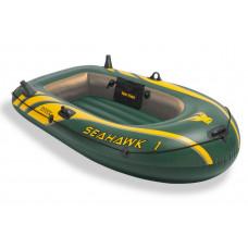 Лодка надувная на 100кг. из армированного ПВХ intex seahawk 1