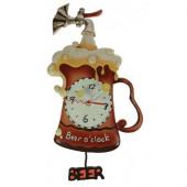 Часы Пиво керамические