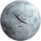 Часы Луна стеклянные
