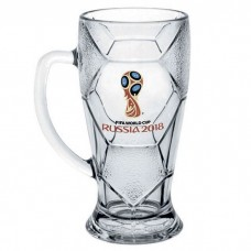 "Кружка для пива ""Лига"" 500 мл. ""Эмблема FIFA Кубок 2018"""