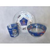 Посуда сувенирная с эмблемой ЧМ по футболу FIFA Кубок 2018 НОВИНКИ размещаются