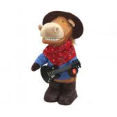 Игрушка музыкальная Конь Ковбой Гитарист