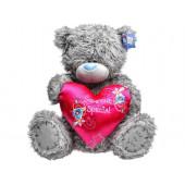 Мишка Teddy Me to You с розовым сердцем (Someone Special)  60см