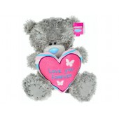 Мишка Teddy Me to you держит сердце Love you Forever 23см
