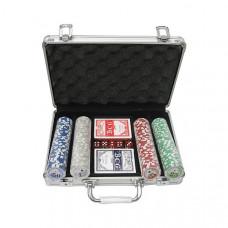 Покерный набор 200 фишек с номиналом