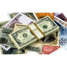 Деньги подарочные в пачках
