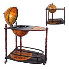 Глобус бар напольный со столиком