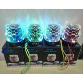 Колонка-светильник беспроводная с usb и блютуз